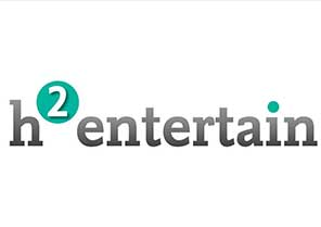 H2entertain Logo